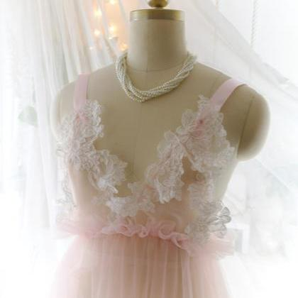 Romantic Fairy Tunic Dress Blush Pi..