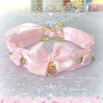 Choker Necklace ,Kitten Pet Play Co..