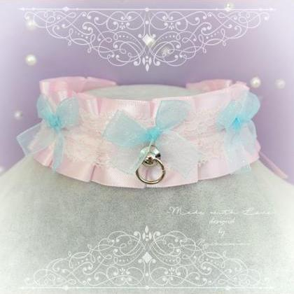 Choker Necklace, Kitten Pet Play Da..