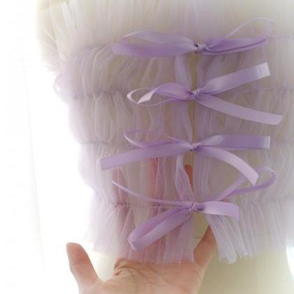 Romantic Fairy Corset Mesh Tube To..